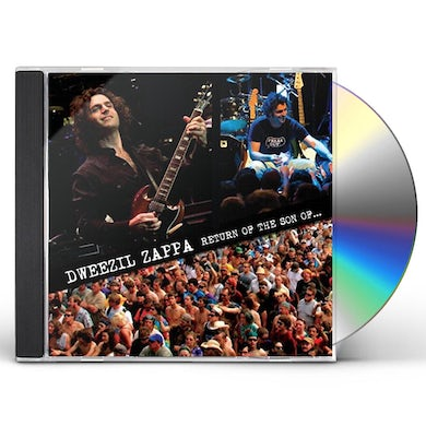 Dweezil Zappa RETURN OF THE SON OF CD
