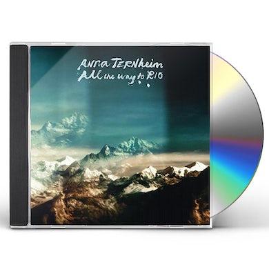 Anna Ternheim ALL THE WAY TO RIO CD