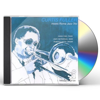 Curtis Fuller MEETS ROMA JAZZ TRIO (LIMITED) CD