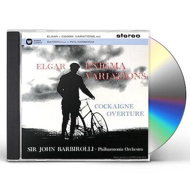 Elgar / John Barbirolli ELGAR: ENIGMA VARIATIONS CD