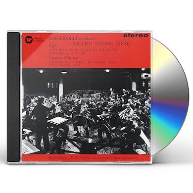 John Barbirolli BARBIROLLI CONDUCTS ENGLISH STRING MUSIC CD