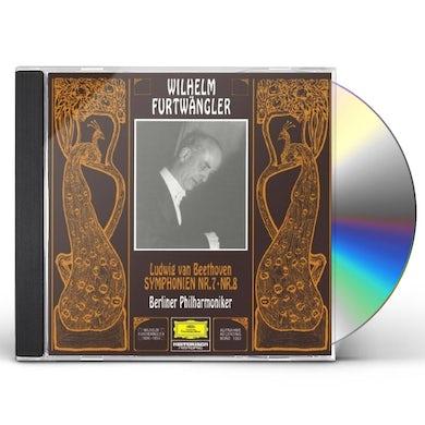 Wilhelm Furtwangler BEETHOVEN: SYMPHONIES NOS.7 & 8 CD