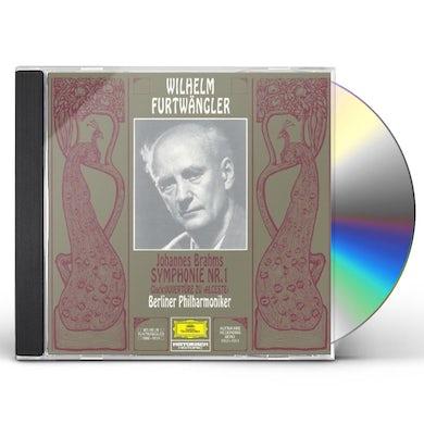 Wilhelm Furtwangler BRAHMS: SYMPHONY NO.1 CD