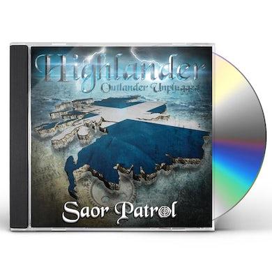 SAOR PATROL HIGHLANDER-OUTLANDER UNPLUGGED CD