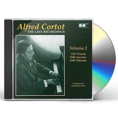 Alfred Cortot LATE RECORDINGS 2 CD