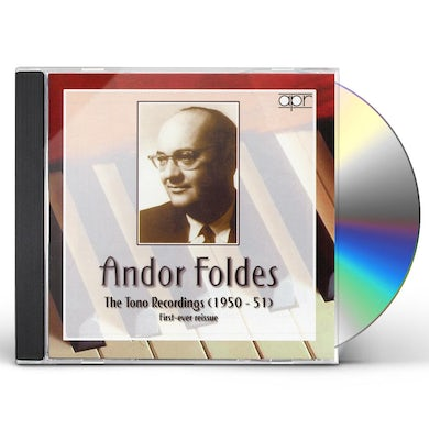 Andor Foldes TONO RECORDINGS 1950-1951 CD