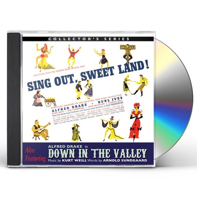 Alfred Drake SING OUT SWEET LAND / DOWN IN THE VALLEY / O.B.C. CD