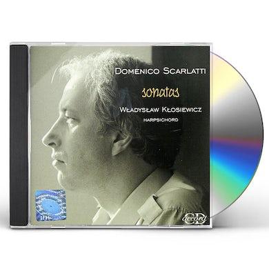 Domenico Scarlatti HARPSICHORD SONATAS CD