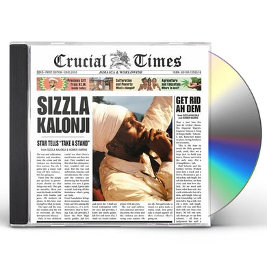 Sizzla CRUCIAL TIMES CD