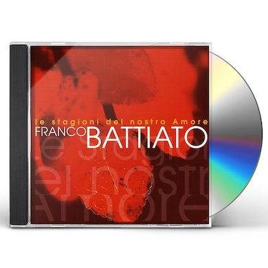 Franco Battiato LE STAGIONI DEL NOSTRO AMORE CD
