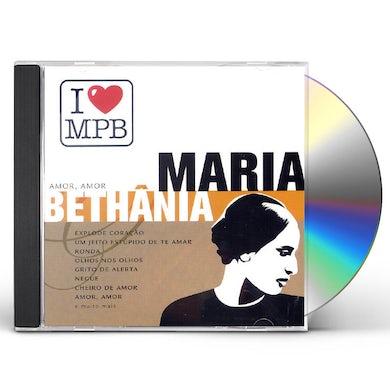 Maria Bethania I LOVE MPB CD