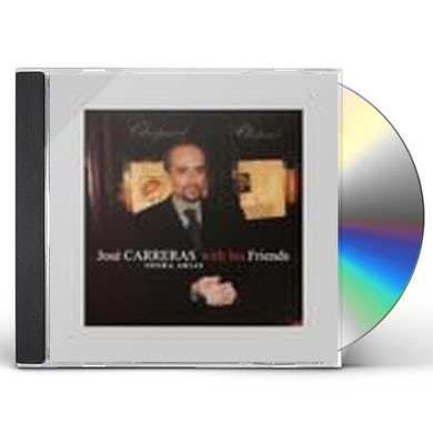 Jose Carreras WITH HIS FRIENDS CD