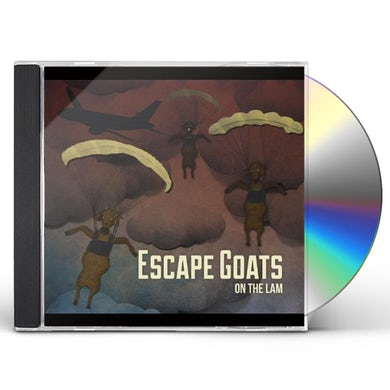 Escape Goats ON THE LAM CD