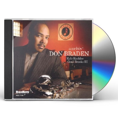 Don Braden WORKIN CD