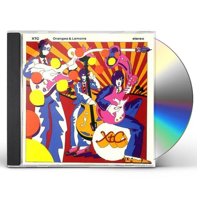 XTC ORANGES & LEMONS: REMIXED & EXPANDED CD