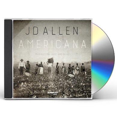 JD Allen AMERICANA: MUSINGS ON JAZZ & BLUES CD