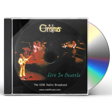 Christmas LIVE IN SEATTLE CD