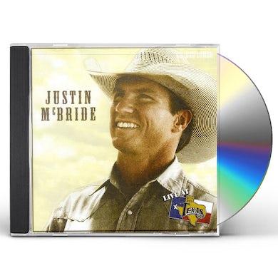 Justin McBride LIVE AT BILLY BOB'S TEXAS CD