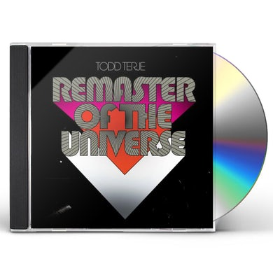 Todd Terje REMASTER OF THE UNIVERSE CD