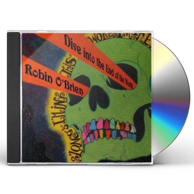 Robin O'Brien DIVE INTO THE END OF THE WORLD CD