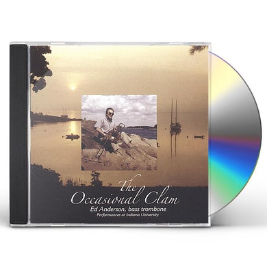Ed Anderson OCCASIONAL CLAM CD