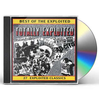 TOTALLY The Exploited CD