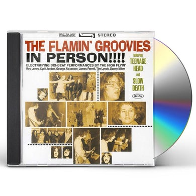 Flamin Groovies IN PERSON CD