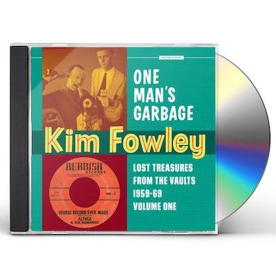 Kim Fowley ONE MAN'S GARBAGE CD