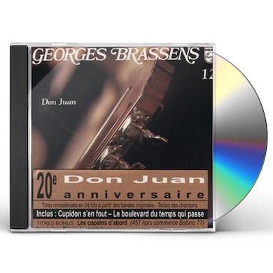 Georges Brassens DON JUAN 12 CD