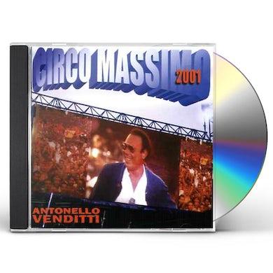 Antonello Venditti CIRCO MASSIMO 2001 CD