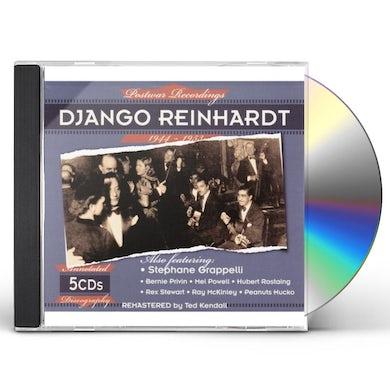 Django Reinhardt POSTWAR RECORDINGS 1944-1953 CD