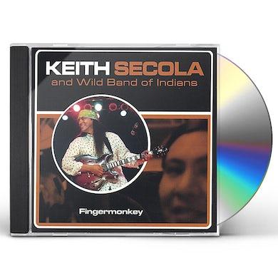 Keith Secola FINGERMONKEY CD