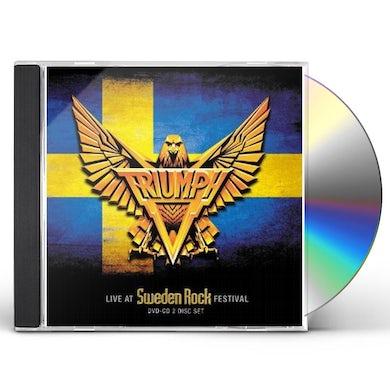 Triumph LIVE AT THE SWEDEN RO CD