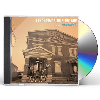 Langhorne Slim LIVE AT GRIMEY'S CD
