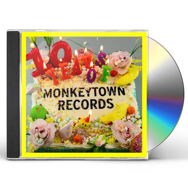 10 Years Of Monkeytown / Various CD