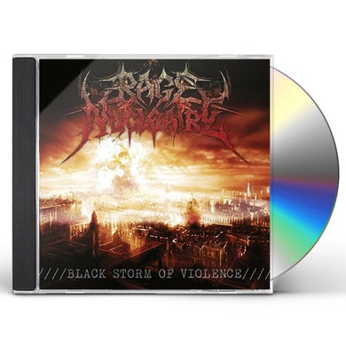 Rage Nucleaire BLACK STORM OF VIOLENCE CD