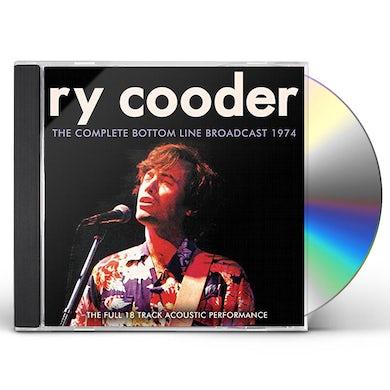 Ry Cooder COMPLETE BOTTOM LINE BROADCAST 1974 CD