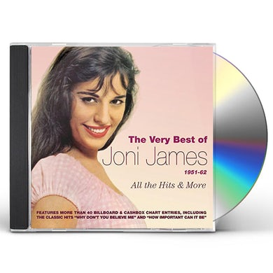 VERY BEST OF JONI JAMES 1951-62: ALL HITS & MORE CD