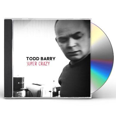 Todd Barry SUPER CRAZY CD