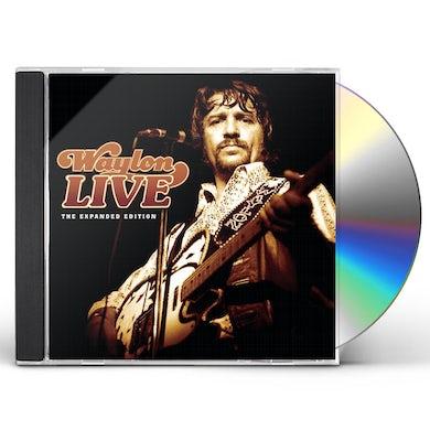 Waylon Jennings WAYLON LIVE CD