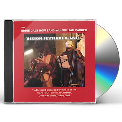Eddie Gale NOW BAND LIVE AT VISION FESTIVAL X CD