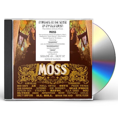 Moss MARCHING TO THE SOUND OF MY OWN DRUM CD