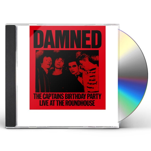The Damned CAPTAIN'S BIRTHDAY PARTY CD