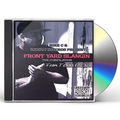 mike c FRONT YARD SLANGIN CD