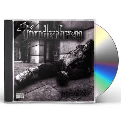 Thunderbrew MISERY CD