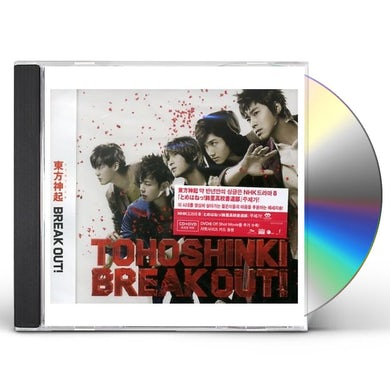 Tohoshinki BREAK OUT CD