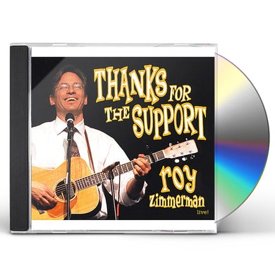 Roy Zimmerman THANKS FOR THE SUPPORT CD