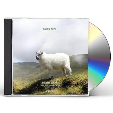 Benjamin Verdery HAPPY HERE CD