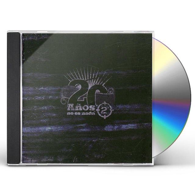 2 Minutos 20 ANOS NO ES NADA CD