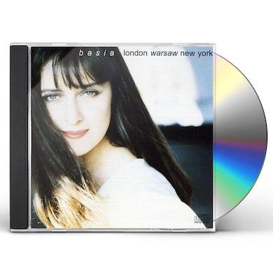 Basia LONDON WARSAW NEW YORK CD